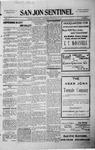 San Jon Sentinel, 05-08-1914 by J. T. White