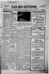 San Jon Sentinel, 06-12-1914 by J. T. White