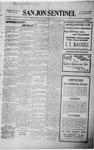 San Jon Sentinel, 06-19-1914 by J. T. White