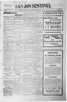 San Jon Sentinel, 07-17-1914 by J. T. White
