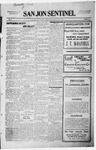 San Jon Sentinel, 07-31-1914 by J. T. White