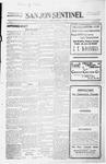San Jon Sentinel, 08-07-1914 by J. T. White