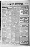 San Jon Sentinel, 08-21-1914 by J. T. White