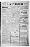 San Jon Sentinel, 10-02-1914 by J. T. White