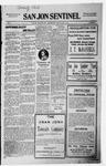 San Jon Sentinel, 10-09-1914 by J. T. White