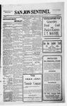 San Jon Sentinel, 11-13-1914 by J. T. White