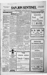 San Jon Sentinel, 11-20-1914 by J. T. White