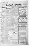 San Jon Sentinel, 11-27-1914 by J. T. White