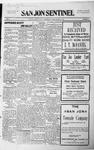 San Jon Sentinel, 12-04-1914 by J. T. White