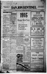 San Jon Sentinel, 01-01-1915