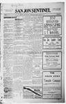 San Jon Sentinel, 01-15-1915 by J. T. White