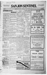 San Jon Sentinel, 01-29-1915 by J. T. White