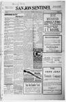 San Jon Sentinel, 03-05-1915 by J. T. White