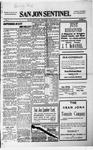 San Jon Sentinel, 03-12-1915 by J. T. White