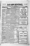 San Jon Sentinel, 05-07-1915 by J. T. White