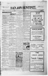 San Jon Sentinel, 05-21-1915 by J. T. White