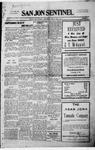 San Jon Sentinel, 06-20-1915 by J. T. White