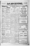 San Jon Sentinel, 07-02-1915 by J. T. White