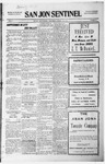San Jon Sentinel, 07-09-1915 by J. T. White