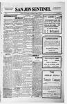 San Jon Sentinel, 07-30-1915 by J. T. White