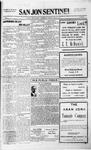 San Jon Sentinel, 08-20-1915 by J. T. White