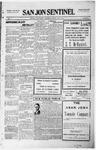 San Jon Sentinel, 08-27-1915