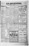 San Jon Sentinel, 10-08-1915 by J. T. White