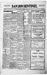 San Jon Sentinel, 10-22-1915 by J. T. White