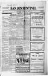 San Jon Sentinel, 11-12-1915 by J. T. White