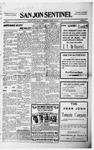 San Jon Sentinel, 12-03-1915 by J. T. White