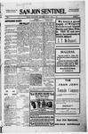 San Jon Sentinel, 01-14-1916 by J. T. White
