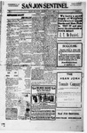 San Jon Sentinel, 01-21-1916 by J. T. White