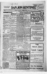 San Jon Sentinel, 01-28-1916 by J. T. White