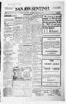 San Jon Sentinel, 02-25-1916 by J. T. White