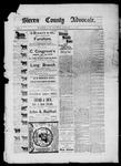 Sierra County Advocate, 01-24-1885 by J.E. Curren
