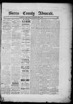 Sierra County Advocate, 03-07-1885 by J.E. Curren