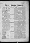 Sierra County Advocate, 04-04-1885 by J.E. Curren