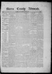 Sierra County Advocate, 04-18-1885 by J.E. Curren