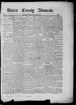 Sierra County Advocate, 05-02-1885 by J.E. Curren