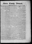 Sierra County Advocate, 05-30-1885 by J.E. Curren