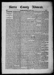 Sierra County Advocate, 06-13-1885 by J.E. Curren