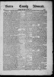 Sierra County Advocate, 06-27-1885 by J.E. Curren