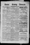 Sierra County Advocate, 07-25-1885 by J.E. Curren
