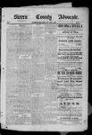 Sierra County Advocate, 08-01-1885 by J.E. Curren