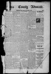 Sierra County Advocate, 08-15-1885 by J.E. Curren