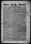 Sierra County Advocate, 09-05-1885 by J.E. Curren