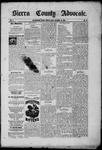 Sierra County Advocate, 09-19-1885 by J.E. Curren