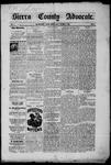 Sierra County Advocate, 10-03-1885 by J.E. Curren