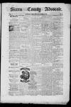 Sierra County Advocate, 10-24-1885 by J.E. Curren