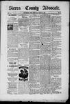 Sierra County Advocate, 10-31-1885 by J.E. Curren